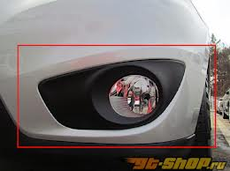 Установка новых противотуманных фар на Hyundai Santa Fe