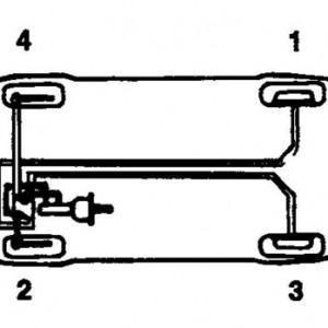Замена жидкости и прокачка тормозной системы на Hyundai Sonata