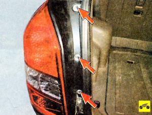 Как снять и заменить лампы габаритов и стопы на Hyundai Tucson