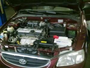 ремень ГРМ на Hyundai Accent