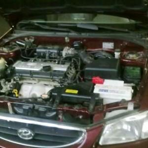 Как установить ремень ГРМ на Hyundai Accent?