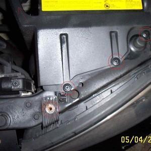 Замена лампы в фаре Hyundai Elantra(как заменить)