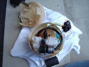 разобрать топливный фильтр
