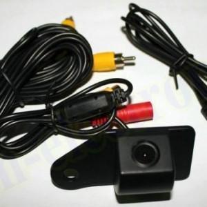 Установка камеры заднего вида(+ монитор) на хендай Акцент