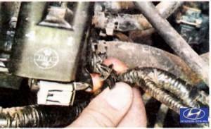 контакты катушки зажигания хендай туксон