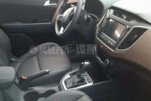 Hyundai ix25 салон