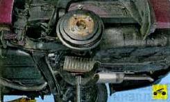 Как снять и установить задний амортизатор на Hyundai Solaris(инструкция по замене)