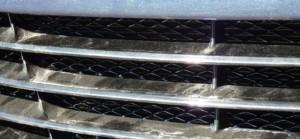 установка сетки радиатора hyundai ix35
