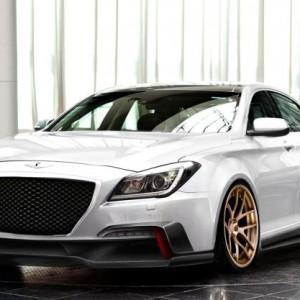 Улучшенный Hyundai Genesis для авто выставки SEMA 2014
