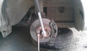 гайка ступицы Hyundai Accent