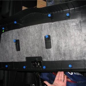 Установка омывателя камеры заднего вида на Hyundai ix35