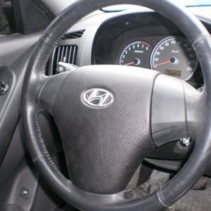 Отчет по перетяжки руля и верхней торпеды(места Airbag) на Hyundai Elantra