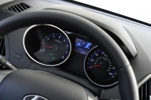 приборка Hyundai Tucson 2015 года