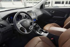 руль Hyundai Tucson 2015 года