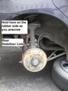 стабилизатор поперечной устойчивости елантра