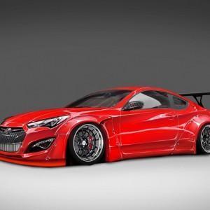Для авто выставки Hyundai Genesis Coupe будет иметь под капотом 1000 лошадей