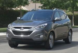 Hyundai Tucson 2015 года