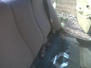 демонтаж заднего сидения elantra