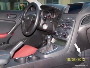 снять пластик Hyundai Santa Fe