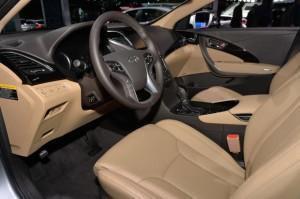 Hyundai Azera 2015 руль панель