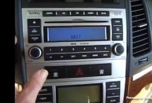 ремонт стерео системы на Hyundai Santa Fe