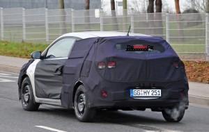 Первые фото Hyundai i20 купе