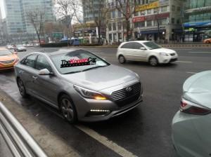 гибридный Hyundai Sonata(2015)