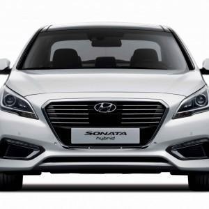 Hyundai представили новую Sonata гибрид