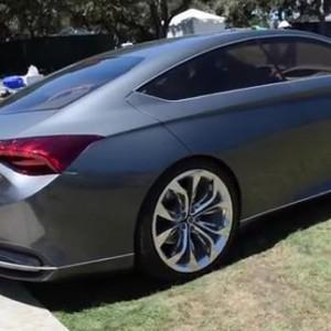 Видео — Новый Hyundai Genesis(2015) на дороге: дизайн и звук
