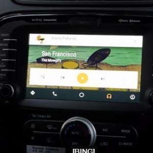 Google показал Android систему для автомобилей на примере Hyundai