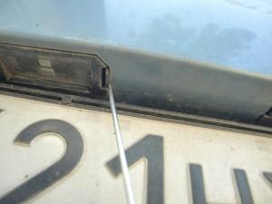 плафон подсветки номера Hyundai i30