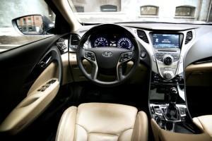 салон Hyundai Grandeur