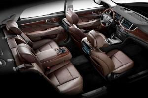 Hyundai Equus салон