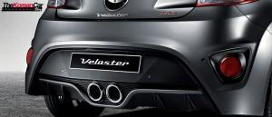 Veloster Turbo выхлоп