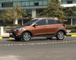 Hyundai Elite i20 шпионское фото