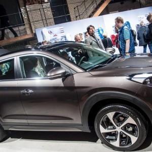 Новые фотографии Hyundai Tucson 2016 года