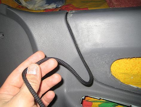 шнурок в обшивку