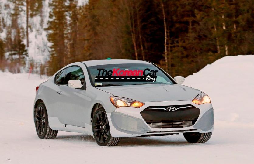 Будущий Genesis Coupe