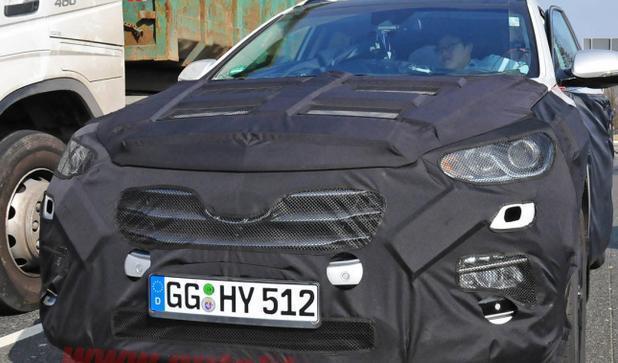 новая модель Hyundai Santa Fe