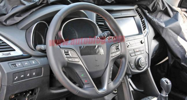 руль Hyundai Santa Fe