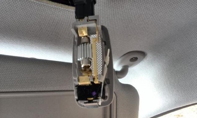 установленный LED