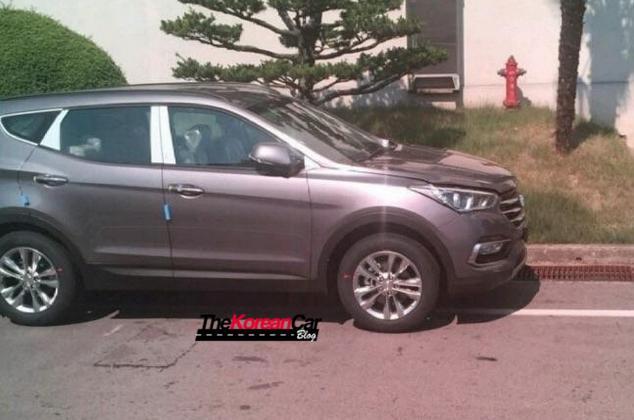Hyundai Santa Fe 2016 года