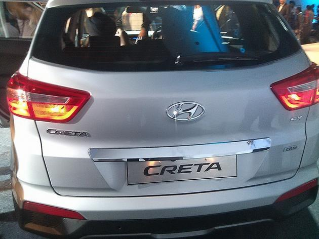 Hyundai Creta в Индии