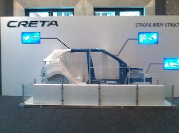 Hyundai Creta в Индии дебют