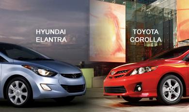 Сравнение Toyota Corolla и Hyundai Elantra — самые ходовые модели