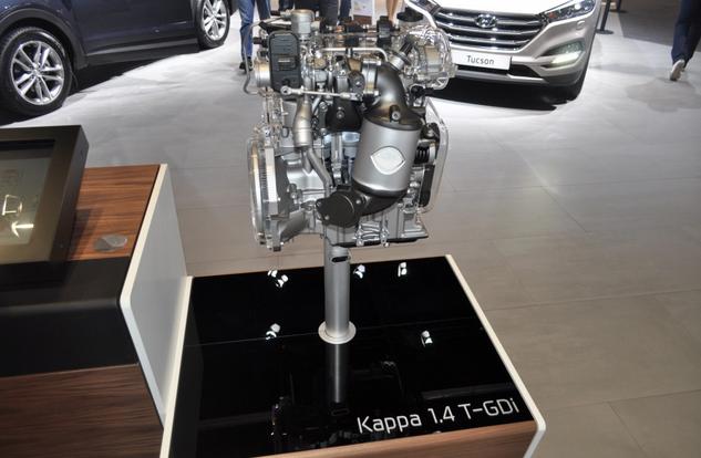 Хендай анонсировало новый 1.4 T-GDi двигатель с 140 лошадками