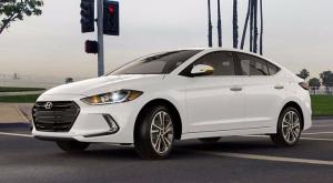 Hyundai Elantra 2017 года