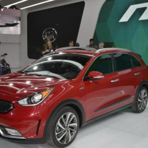 Hyundai Accent и Kia Niro — новые фотографии