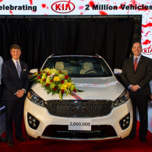 KIA достигли в общей сложности двух миллионов автомобилей в США