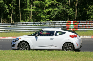 Hyundai Veloster тесты